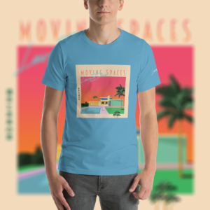 laura dre moving spaces t-shirt